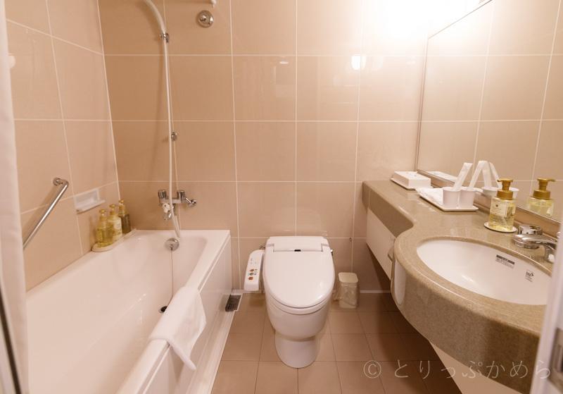 アジール奈良の部屋のお風呂