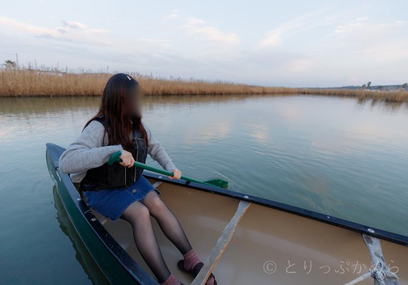伊勢志摩エバーグレイズで初めてのカヌー