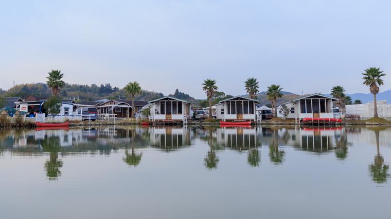 伊勢志摩エバーグレイズでカヌー体験【迷路コースもあるよ】