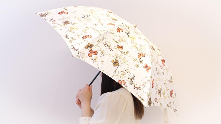 ジルスチュアートの傘が可愛い!ボタニカル柄で華やかなデザイン