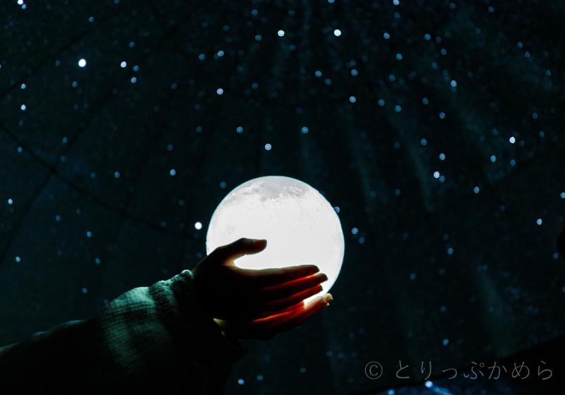 ポラリスの月のランプ