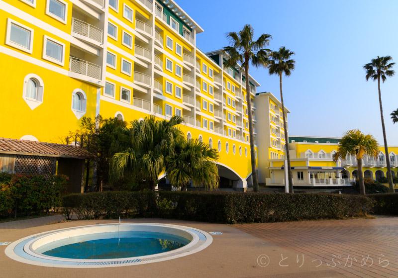 和歌山マリーナシティホテルの外観