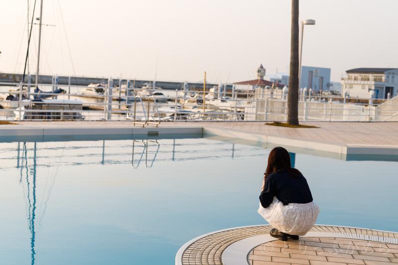 和歌山マリーナシティのプール