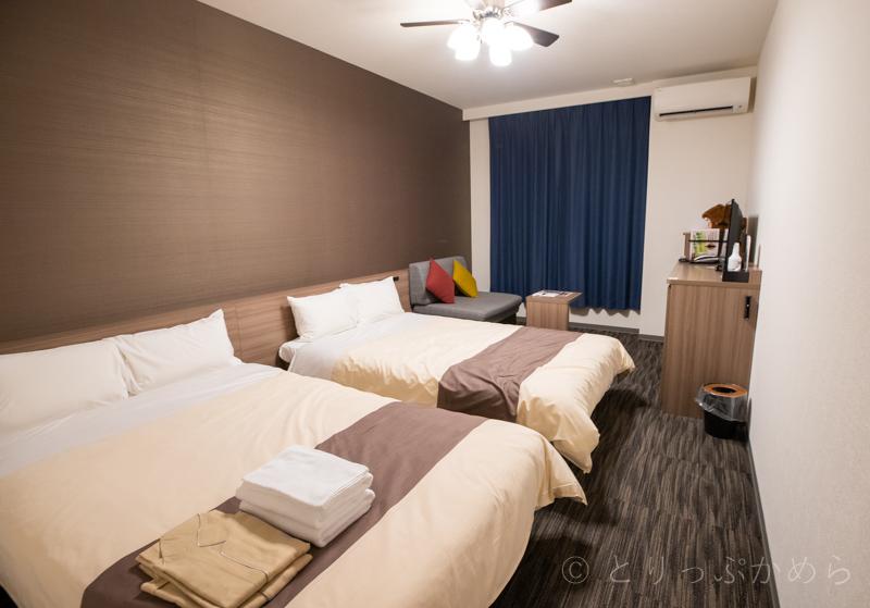 変なホテルラグーナテンボスのスタンダードツインのお部屋