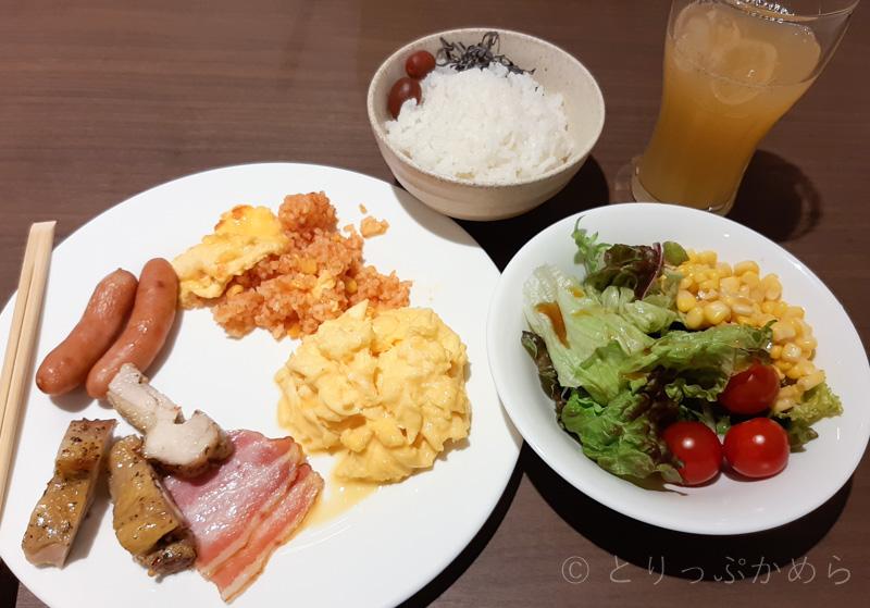 変なホテルラグーナテンボスのゆっけの朝食