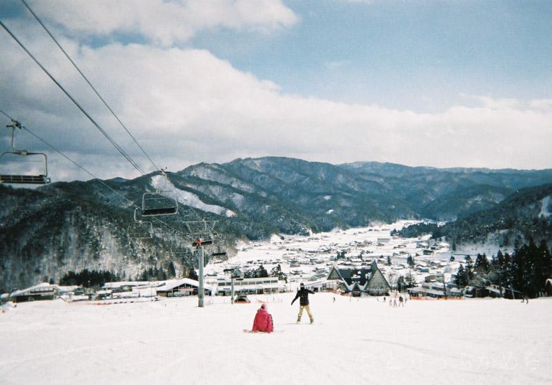 スノーボードで写ルンです2