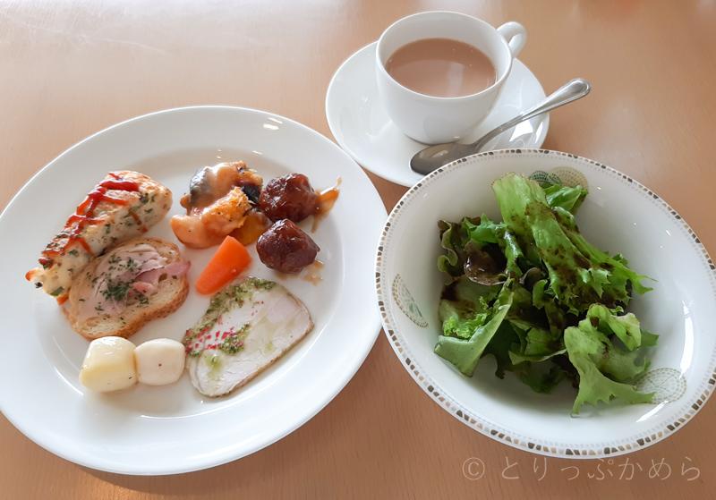 タラソカフェでとろろが食べたビュッフェ