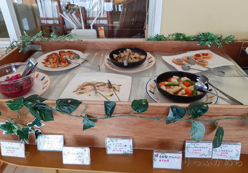 タラソカフェの前菜
